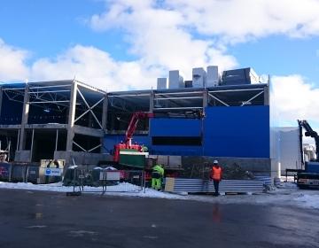 Alpi Logistikakeskuse juurdeehitus